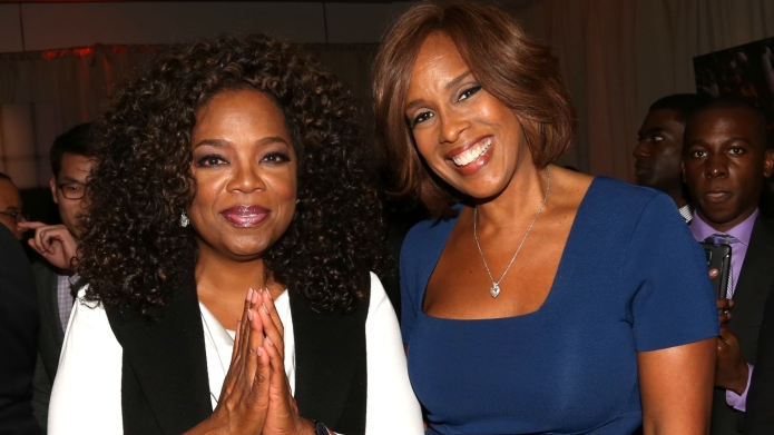 Oprah Winfrey and Gayle King.