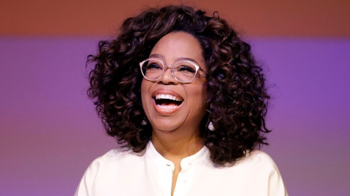 Oprah Winfrey during a tribute to