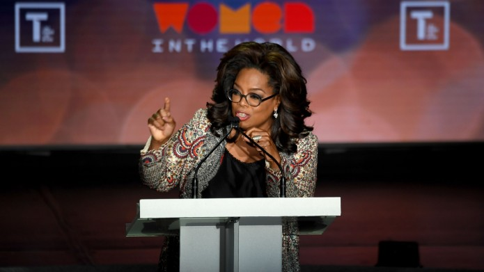 Oprah Winfrey at 10th Annual Women
