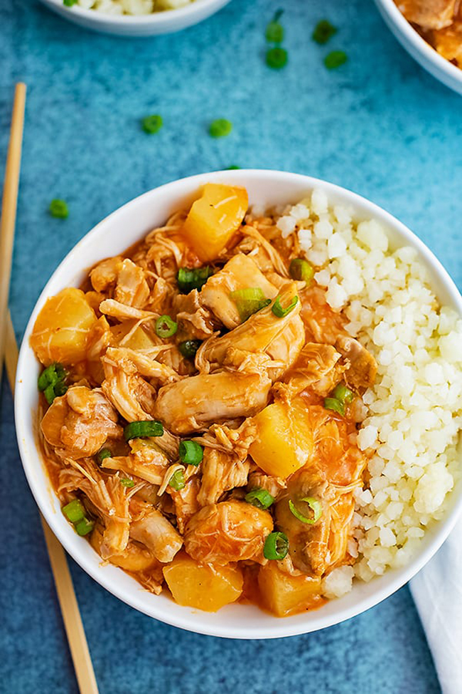 Paleo Recipes: Pressure Cooker Paleo Sweet and Sour Chicken Thighs