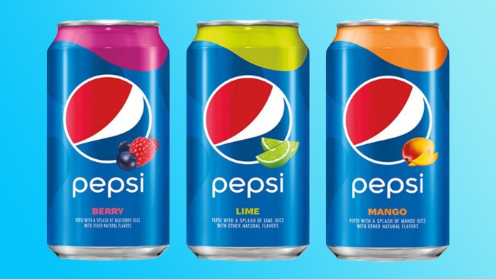 Pepsi Adds 3 New Flavors
