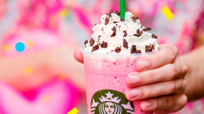 Starbucks' Pink Flamingo Frappuccino Has Arrived