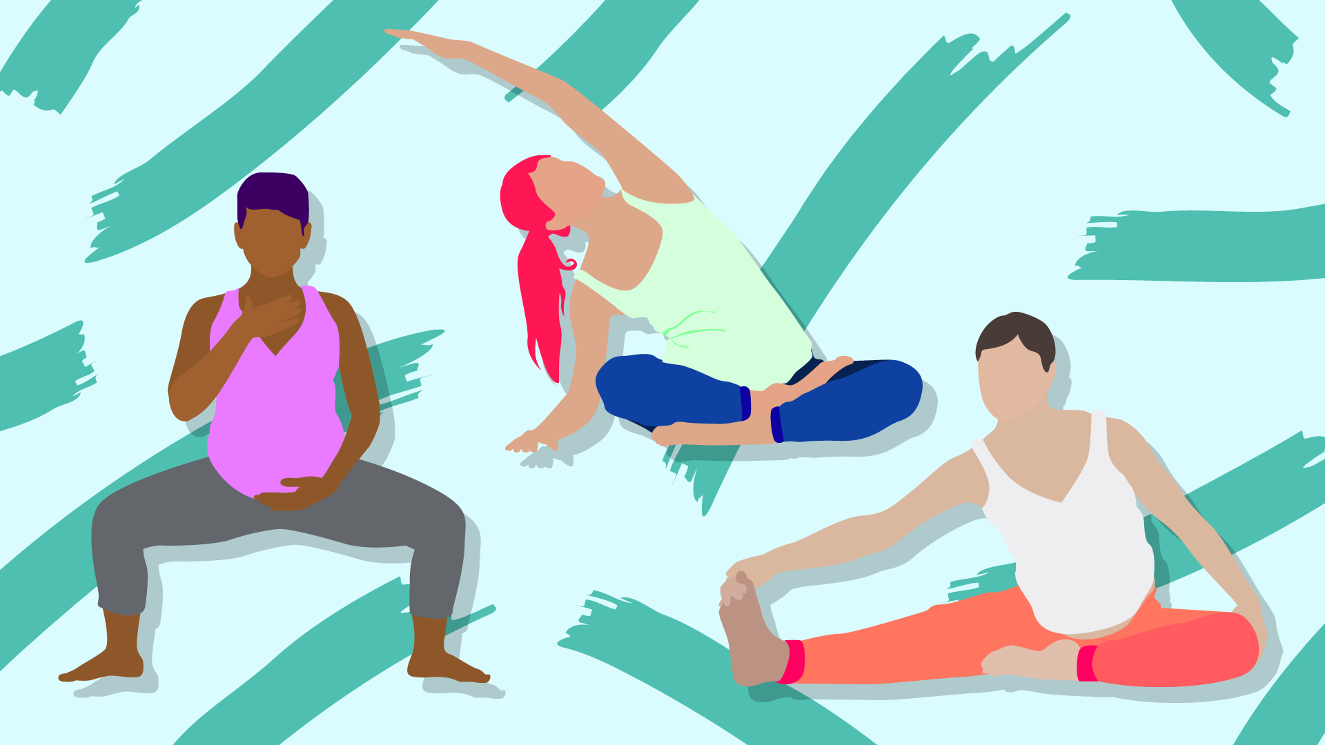 10 Prenatal Yoga Poses & Their Benefits – SheKnows