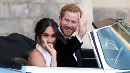 The newly married Duke and Duchess
