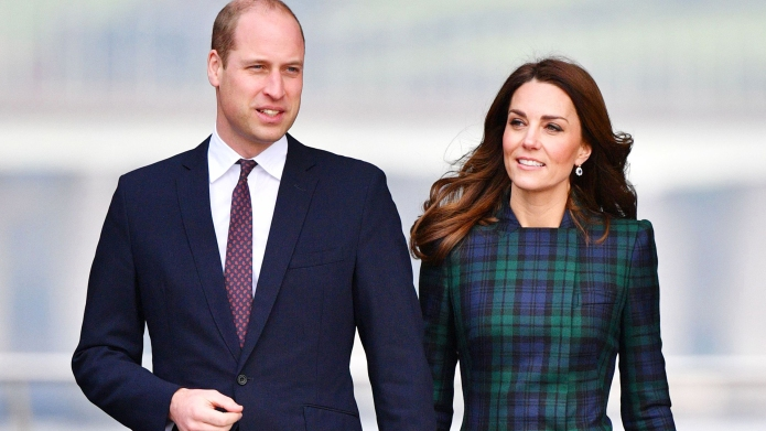 prince william and kate middleton walking