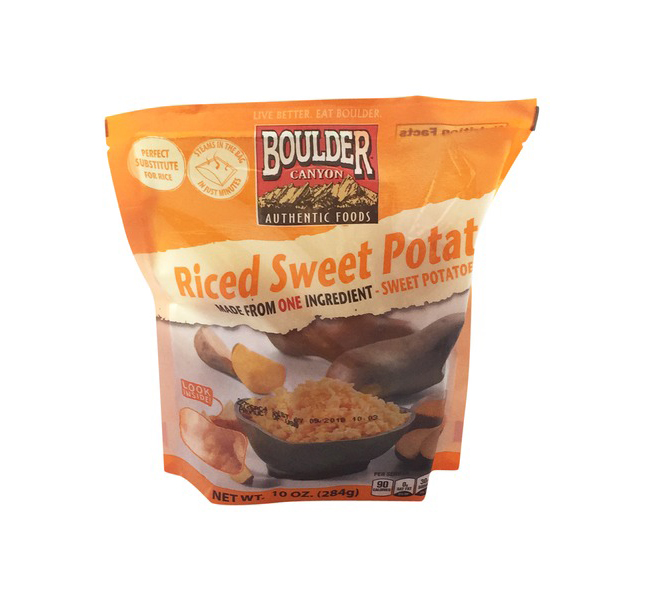 Rice Alternatives: Sweet Potato Rice