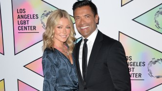 Ripa and Consuelos at 49th Anniversary