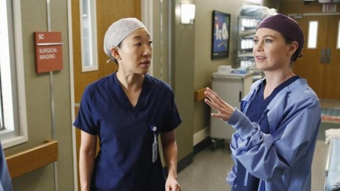 Sandra Oh on Grey's Anatomy Cristina