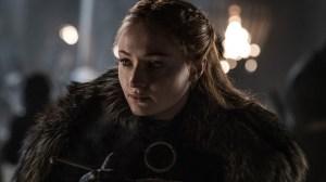 Sophie Turner as Sansa Stark season 8 game of thrones