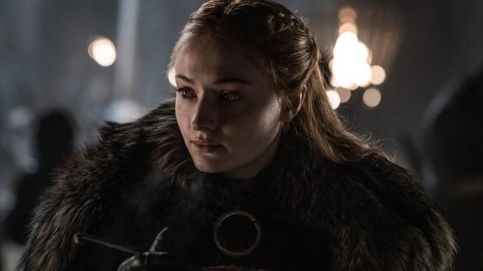 Sophie Turner as Sansa Stark season