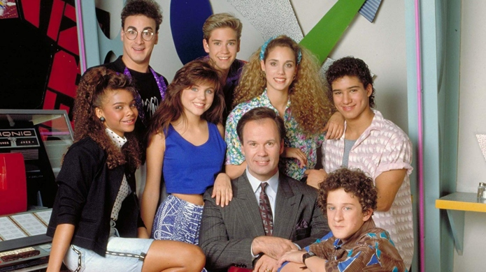 'Saved By the Bell' cast.