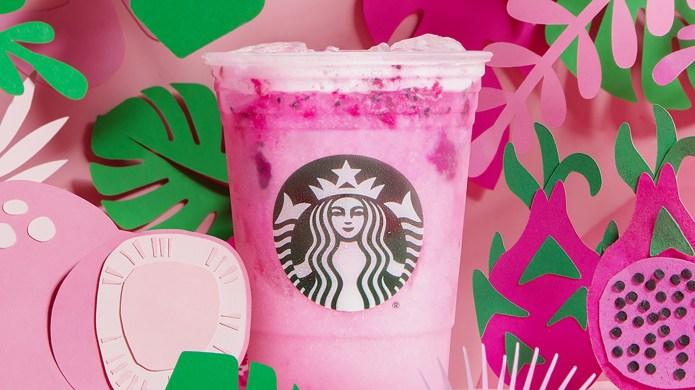 Starbucks Dragon Drink