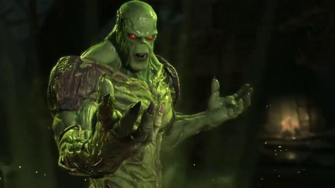 'Swamp Thing' series.
