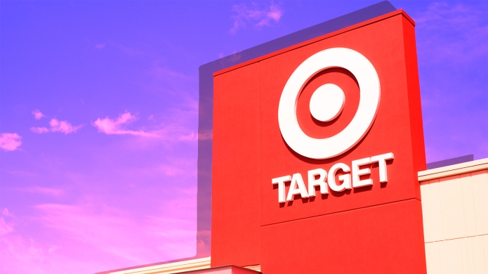 Target retail store located in the