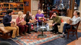 TBBT cast in final season episode