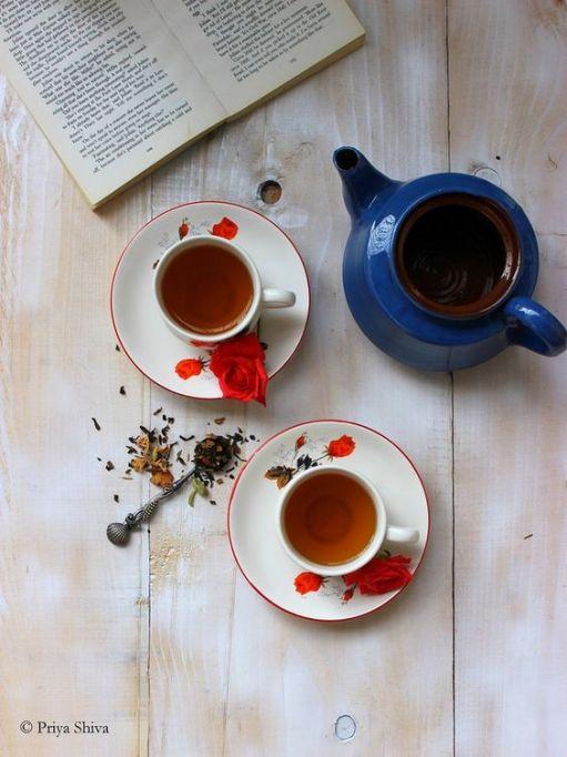 Priya Kitchenette's Kahwah Green Tea.