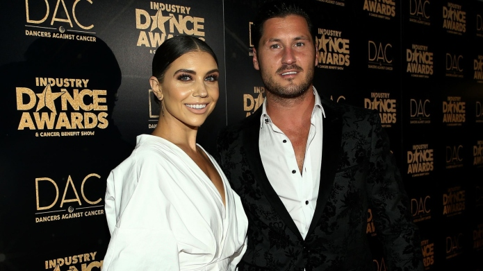 Jenna Johnson and Val Chmerkovskiy.
