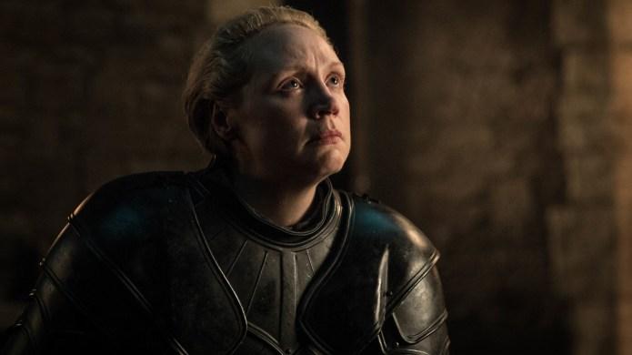 Gwendolyn Christie as Brienne of Tarth