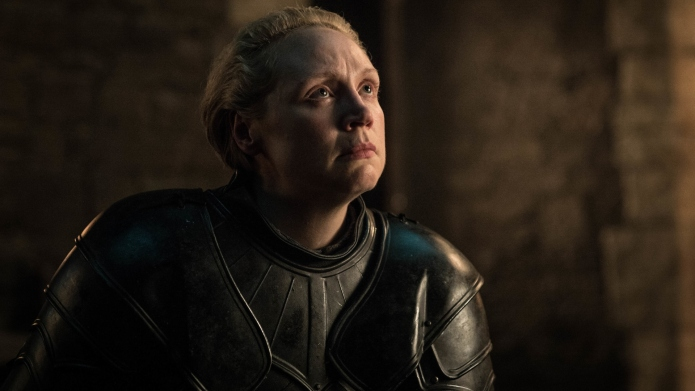 Gwendolyn Christie as Brienne of Tarth