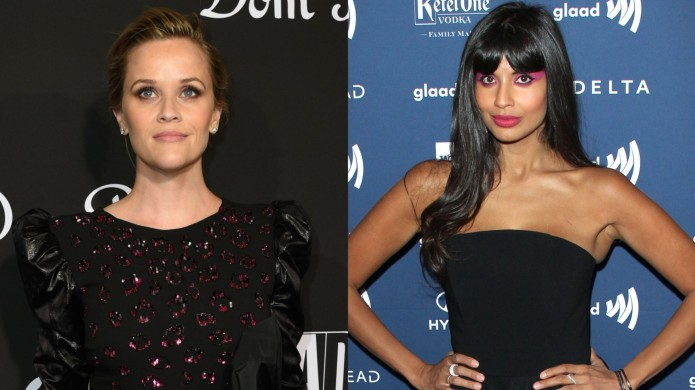 Collage of Reese Witherspoon and Jameela