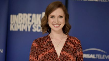 "Ellie Kemper attends the ""Unbreakable Kimmy"