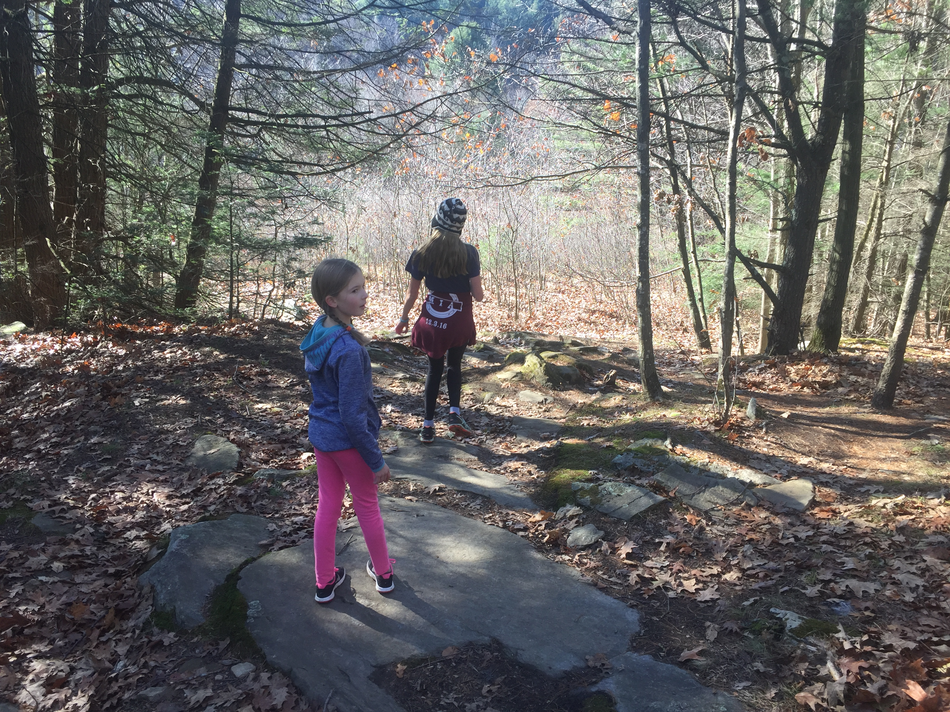 Daughters in the woods