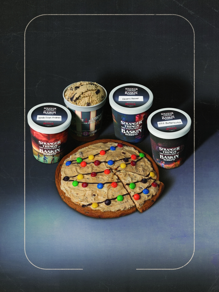 Stranger Things Baskin-Robbins Cookie