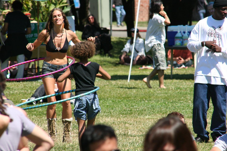 Berkeley World Music Festival kids.
