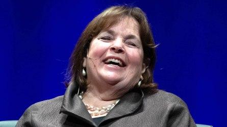 Author Deborah Davis and Ina Garten,