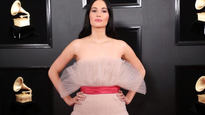 Kacey Musgraves Pink Dress