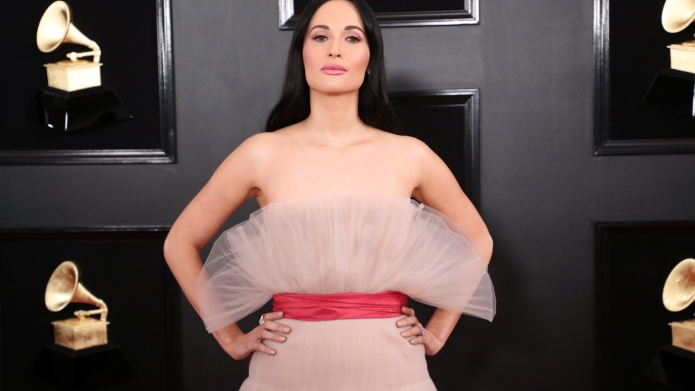 Kacey Musgraves Pink Dress