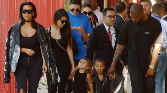 KimK.Kanye.North.Penelope.Kourtney.Kendall