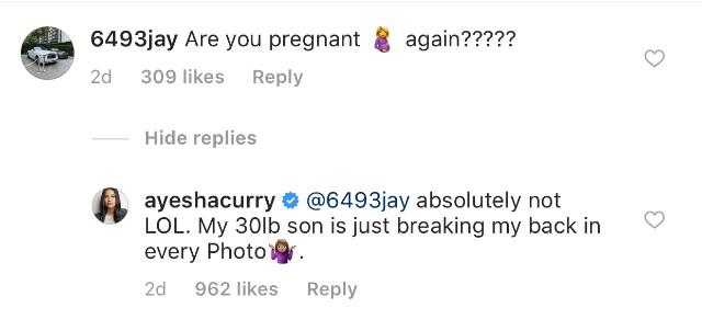 Ayesha Curry bodyshaming son embed 1