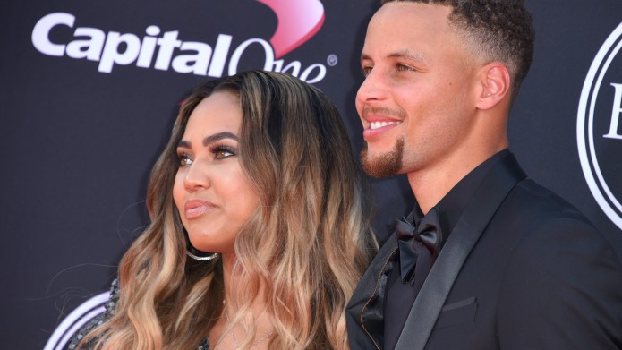Ayesha and Steph Curry at ESPY