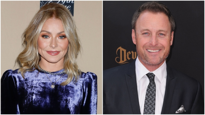 Kelly Ripa; Chris Harrison.