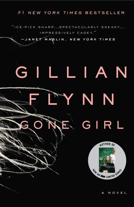 'Gone Girl' by Gillian Flynn (2012).