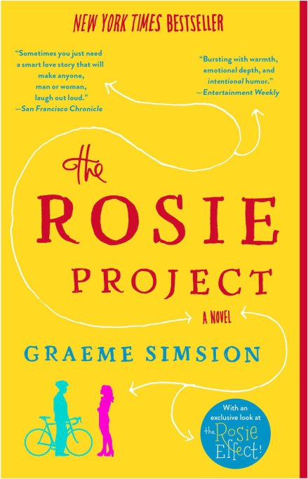 'The Rosie Project' by Graeme Simsion (2013).