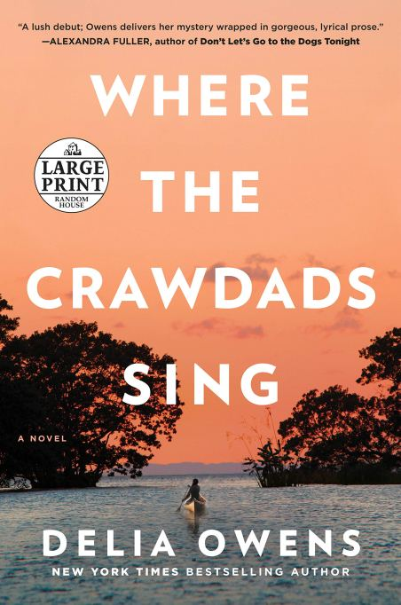 'Where the Crawdads Sing' by Delia Owens (2018).