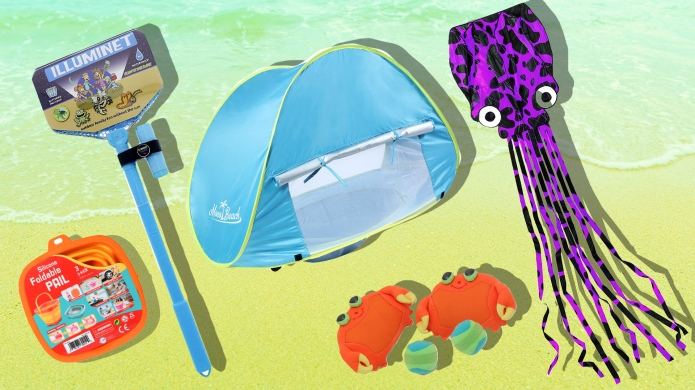 11 Beach Toys You Won't Mind Toting All Over