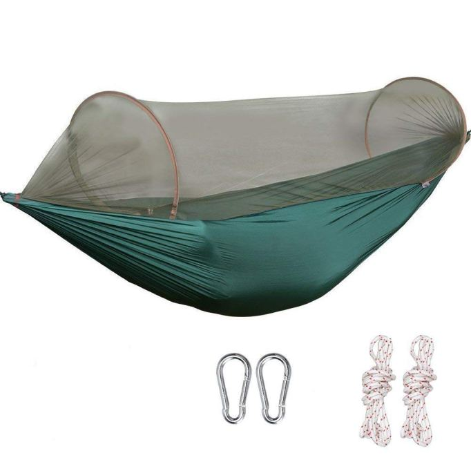 Best hammock for people who hate bugs.