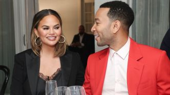 Chrissy Teigen and John LegendPaul Smith
