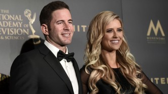 Tarek El Moussa, left, and Christina