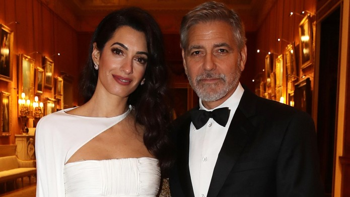 The Clooneys at 'The Prince's Trust'