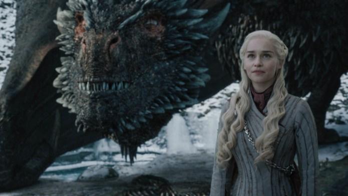 Daenerys and drogon dragon game of