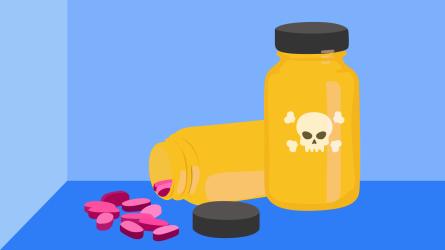 Illustration of vitamins