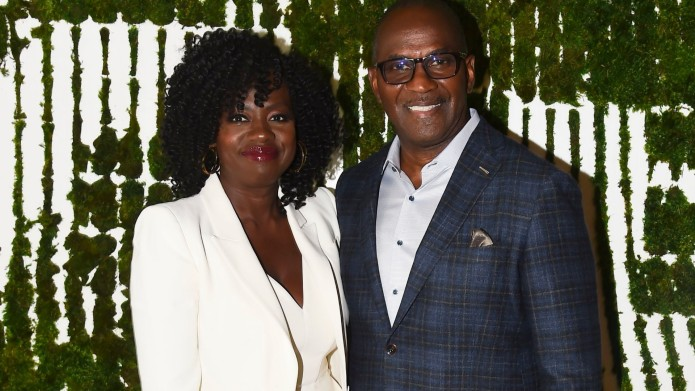 Viola Davis and Julius Tennon at