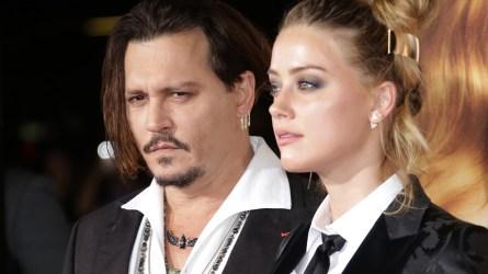 Johnny Depp and Amber Heard at