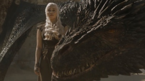 Daenerys on 'Game of Thrones.'