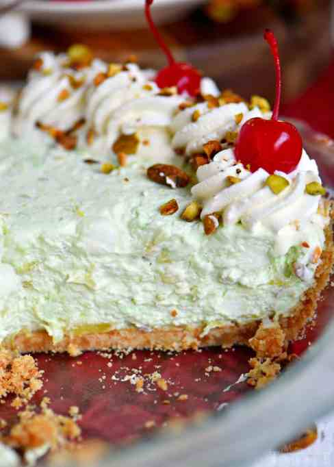 Easy pistachio pie.