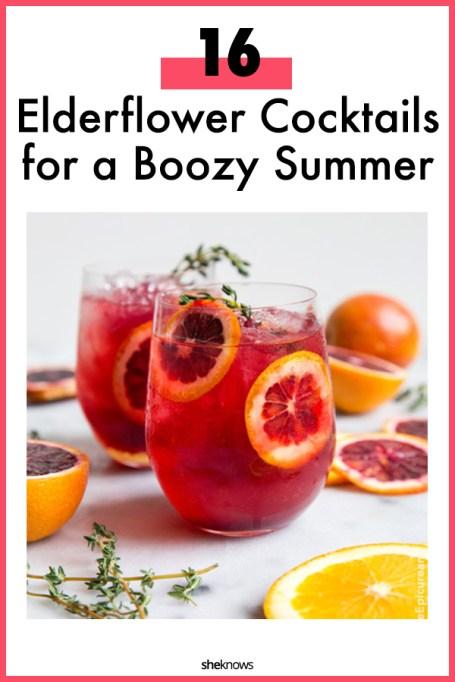 Elderflower Cocktail Recipes